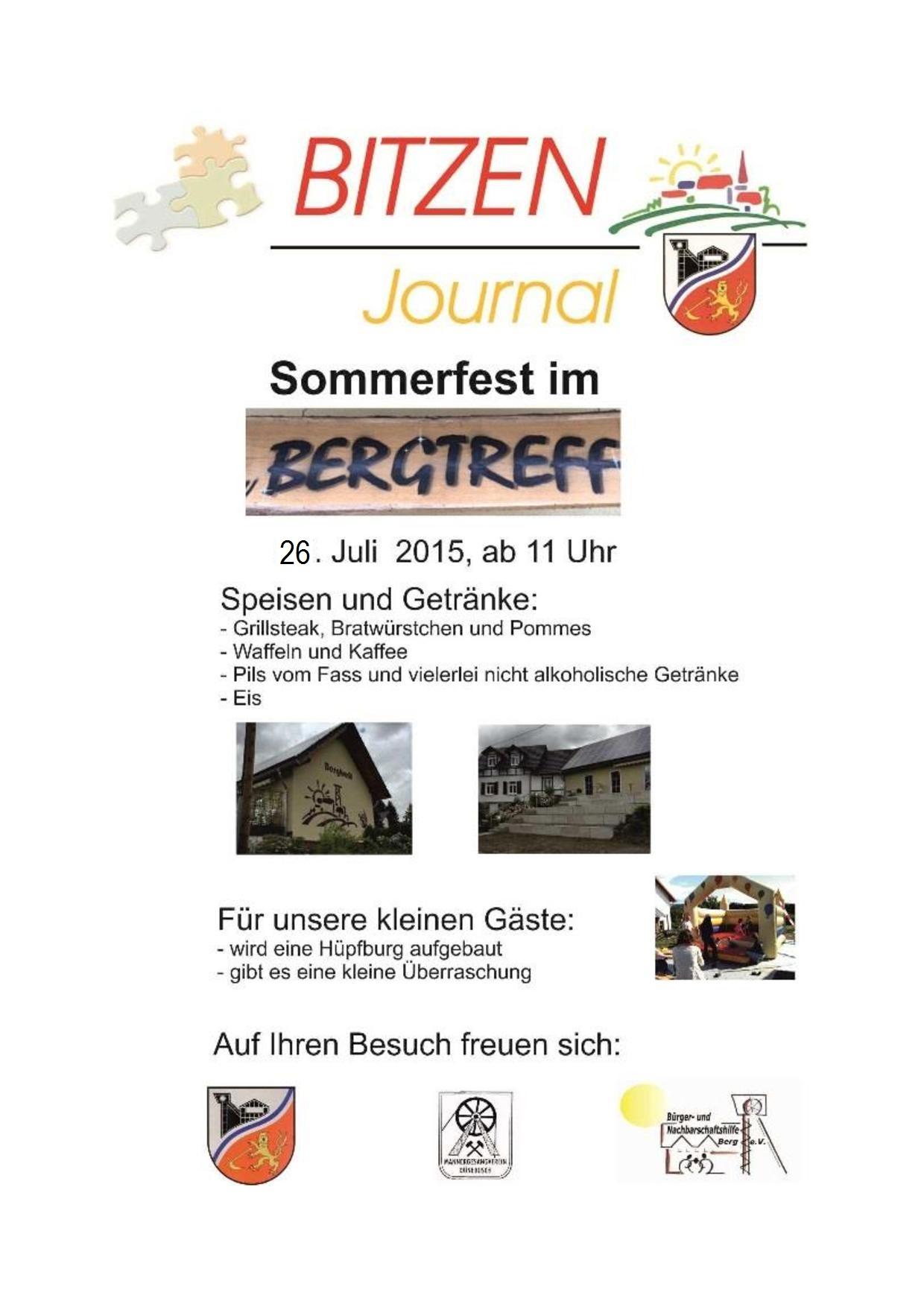 2015 07 14 Einladung Zum Sommerfest